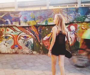 art, streetlife, and graffiti image