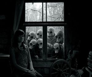 creepy, horror, and dark image