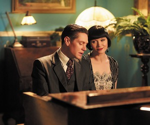 jack robinson, phryne fisher, and let's misbehave image