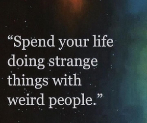 quotes, life, and weird image