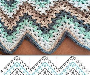 blanket, crochet, and free image