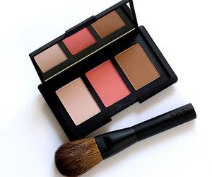 makeup, beauty, and blush image