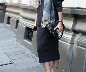 fashion and midi skirt image