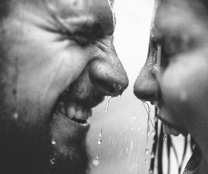 beautiful, laughing, and shower image
