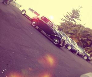 car, cars, and old image