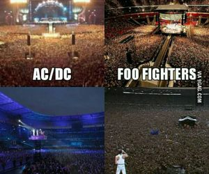 ACDC, Dominic Howard, and foo fighters image
