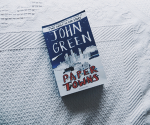 book, john green, and movie image