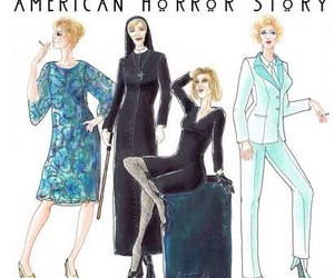 jessica lange, american horror story, and Queen image