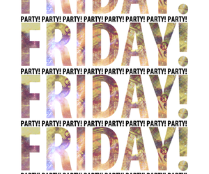 friday and party image