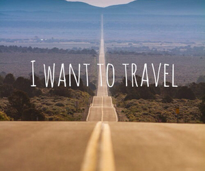 travel, road, and world image
