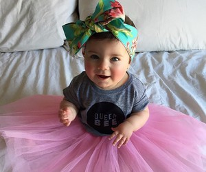 baby, beautiful, and fashion image