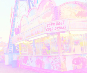 carnival, neon, and bright pastel image