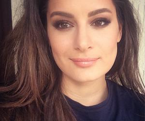brunette, singer, and Turkish image