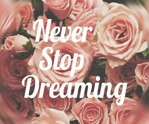 dreaming, flowers, and never image
