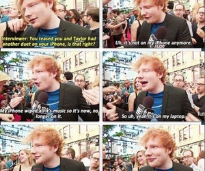 interview, music, and ed sheeran image