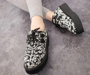 clothes, shoes, and creepers image