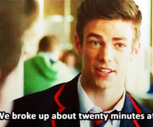 glee, warblers, and grant gustin image