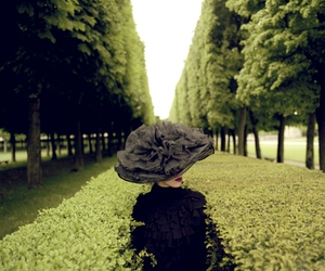 hat, nature, and garden image