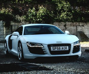 audi r8 and car image
