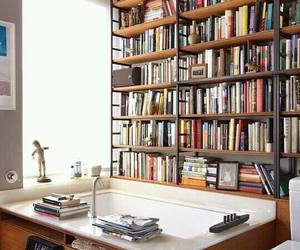 book, bathroom, and home image