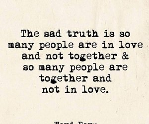 quote, together, and love image