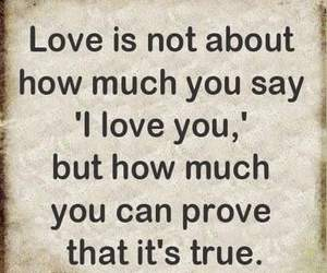 love, quote, and prove image