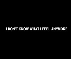 feeling, lost, and sad image