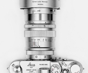 camera, leica, and photography image
