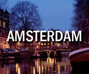 amsterdam, night, and the netherlands image