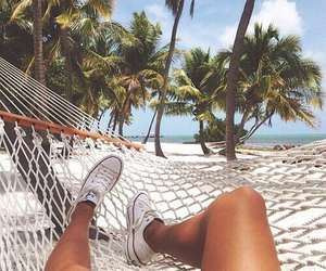 summer, beach, and converse image