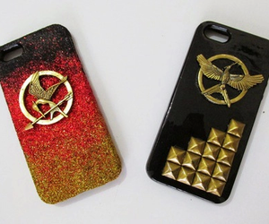 hunger games, case, and phone image
