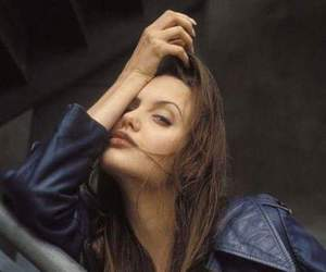 Angelina Jolie, grunge, and beauty image