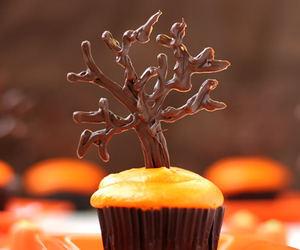 cupcake and autumn image