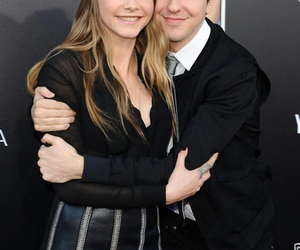 cara delevingne, nat wolff, and cute image