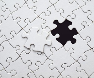 black, puzzle, and white image