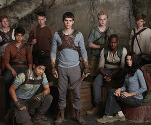 runner, the maze runner, and friends image