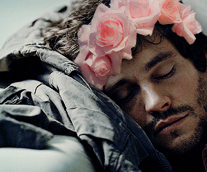 flower crown, hugh dancy, and hannibal image