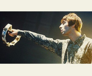 liam gallagher, oasis, and mad fer it image