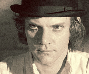 a clockwork orange, alex delarge, and Malcolm McDowell image