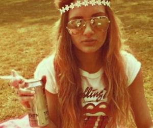 fashion, hippie, and glasses image