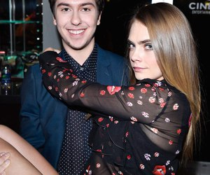 cara delevingne, nat wolff, and paper towns image