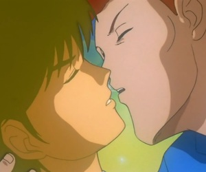 anime, kuwabara, and yusuke urameshi image