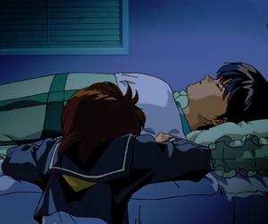 anime, yusuke urameshi, and keiko image