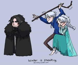 frozen, fun, and jack frost image