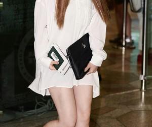 airport, girl, and korea image