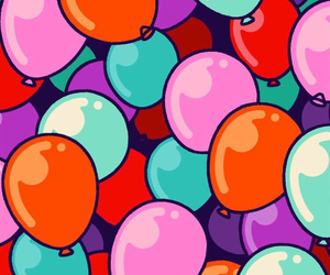 wallpaper, balloons, and background image