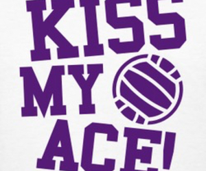 ace, ball, and volley image