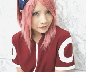 cosplay, naruto, and sakura haruno image