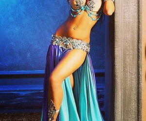 arabian, beauty, and belly dance image