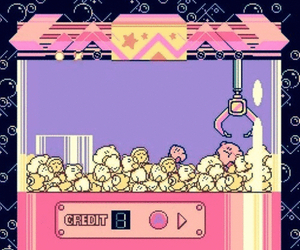 kirby, game, and pink image
